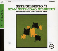 GETZ,STAN / GILBERTO,JOAO - GETZ GILBERTO #2: LIVE AT CARNEGIE HALL - CD New