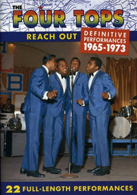 FOUR TOPS - REACH OUT - Video DVD