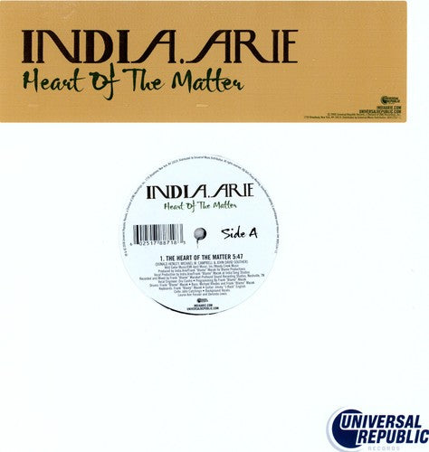 INDIA ARIE - HEART OF THE MATTER - Vinyl New