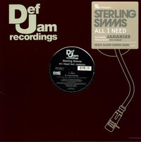 STERLING SIMMS - ALL I NEED (X2) - Vinyl New