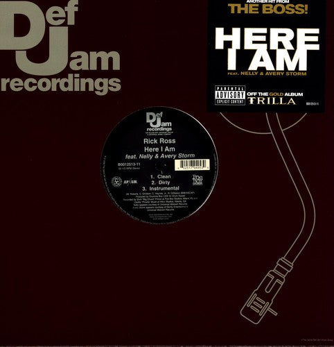 RICK ROSS - HERE I AM (X3) - Vinyl New