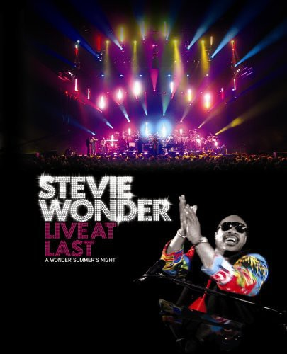 STEVIE WONDER - LIVE AT LAST - Video BluRay