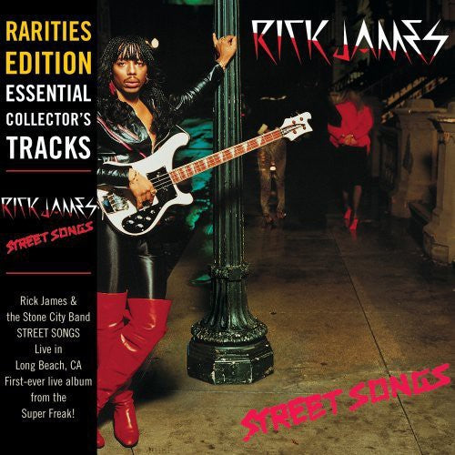RICK JAMES - STREET SONGS: RARITIES EDITION - CD New