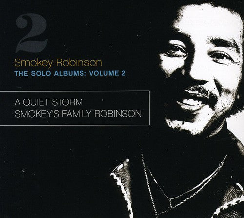 SMOKEY ROBINSON - SOLO ALBUMS 2 - CD New