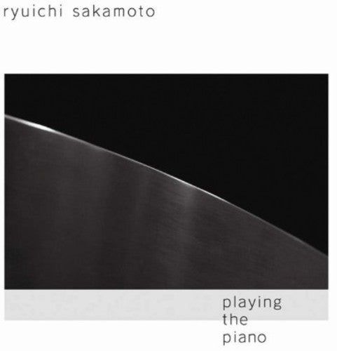 RYUICHI SAKAMOTO - PLAYING THE PIANO - CD New