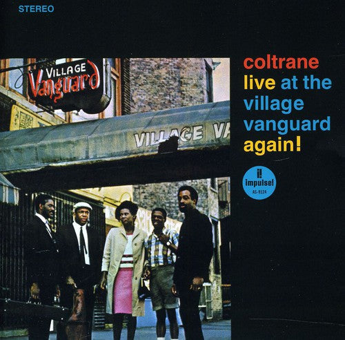 COLTRANE, JOHN - LIVE AT THE VILLAGE VANGUARD AGAIN (CD) - CD New