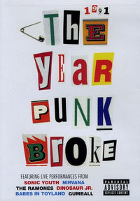 SONIC YOUTH - 1991: THE YEAR PUNK BROKE - Video DVD