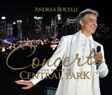 ANDREA BOCELLI - CONCERTO ONE NIGHT IN CENTRAL PARK - CD New