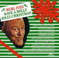 BURL IVES - HAVE A HOLLY JOLLY CHRISTMAS - CD New