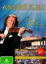 ANDRE RIEU - HAPPY BIRTHDAY - A CELEBRATION OF 25 YEA - Video Used DVD
