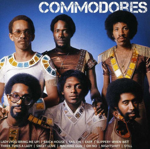 COMMODORES - ICON - CD New
