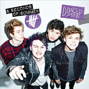 5 SECONDS OF SUMMER - DON'T STOP (AUSTRALIAN BONUS STICKERS) - CD New