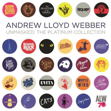 ANDREW LLOYD WEBBER - UNMASKED: THE PLATINUM COLLECTION - CD New