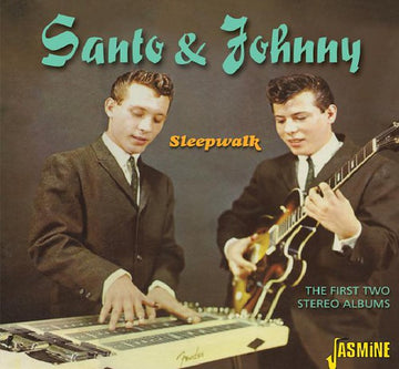 SANTO & JOHNNY - FIRST TWO STEREO ALBUMS - CD New