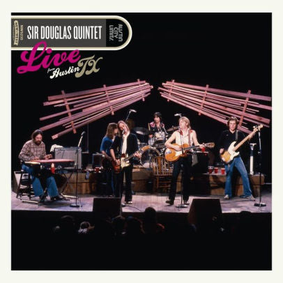 SIR DOUGLAS QUINTET - LIVE FROM AUSTIN TX - Vinyl New