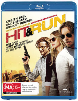 KRISTEN BELL - HIT & RUN - Video Used BluRay
