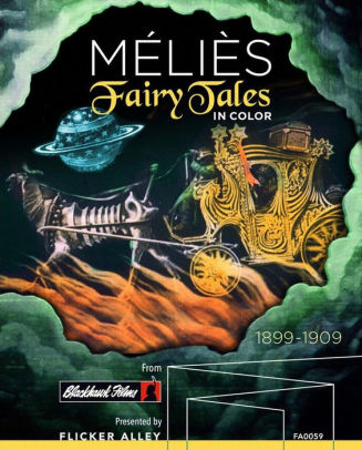 MELIES: FAIRY TALES IN COLOR - MELIES: FAIRY TALES IN COLOR - Video BluRay