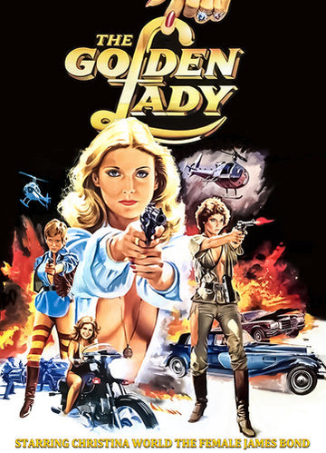 GOLDEN LADY (1979) - GOLDEN LADY (1979) (DVD) - Video DVD