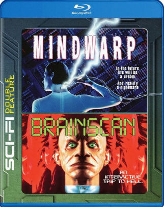 MINDWARP & BRAINSCAN: DOUBLE FEATURE (Blu Ray) - Video BluRay