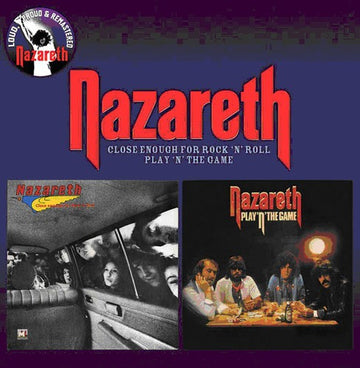 NAZARETH - CLOSE ENOUGH FOR ROCK N ROLL / PLAY N TH - CD New