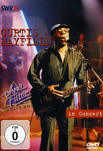 CURTIS MAYFIELD - IN CONCERT - Video DVD