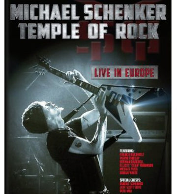 MICHAEL SCHENKER - TEMPLE OF ROCK: LIVE IN EUROPE - Video BluRay