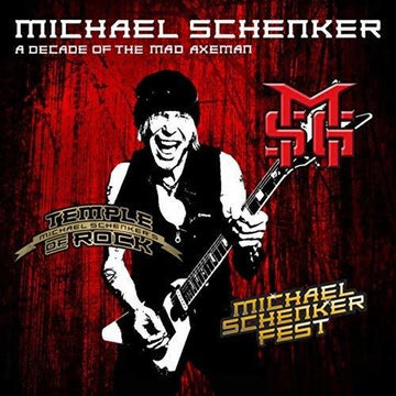 MICHAEL SCHENKER - DECADE OF THE MAD AXEMAN (LIVE RECORDING - Vinyl New