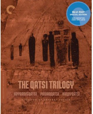 CRITERION COLLECTION: THE QATSI TRILOGY - CRITERION COLLECTION: THE QATSI TRILOGY (Blu Ray) - Video BluRay