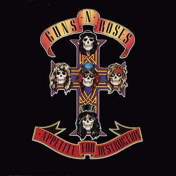 GUNS N ROSES - APPETITE FOR DESTRUCTION (Vinyl LP)