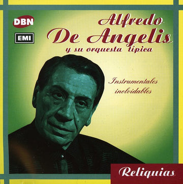 ALFREDO DE ANGELIS - INSTRUMENTALES INOLVIDABLES - CD New