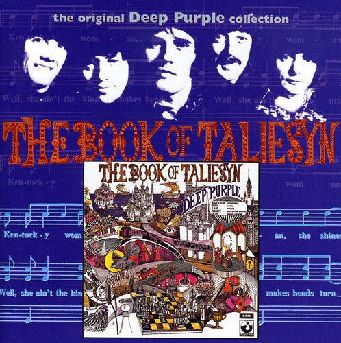 DEEP PURPLE - BOOK OF TALIESYN - CD New