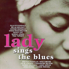 VARIOUS - LADY SINGS THE BLUES - 2 CD (Used CD)