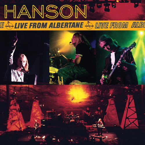 HANSON - LIVE FROM ALBERTANE (CD)