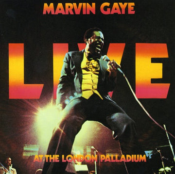 GAYE, MARVIN - LIVE AT THE LONDON PALLADIUM (CD)