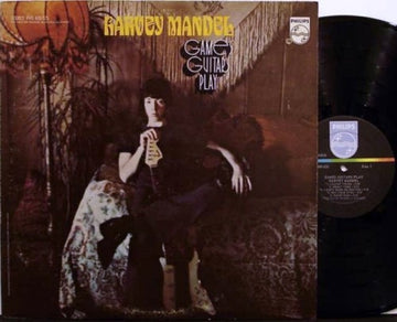 MANDEL, HARVEY - GAMES GUITARS PLAY (Vinyl LP)