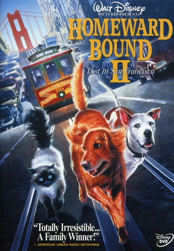 HOMEWARD BOUND 2: LOST IN SAN FRANCISCO - HOMEWARD BOUND 2: LOST IN SAN FRANCISCO (DVD) - Video DVD