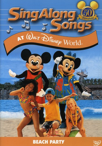 SING-ALONG SONGS: BEACH PARTY AT WALT DI - SING-ALONG SONGS: BEACH PARTY AT WALT DI (DVD)