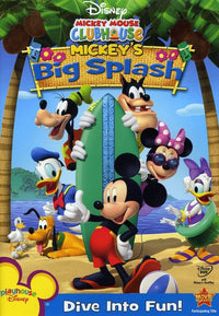 MICKEY MOUSE CLUBHOUSE - MICKEY'S BIG SPLASH (DVD)