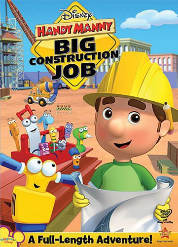 HANDY MANNY - BIG CONSTRUCTION JOB - Video DVD