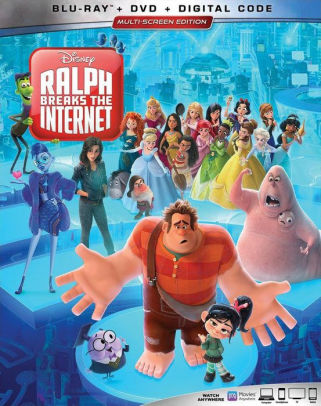 RALPH BREAKS THE INTERNET - RALPH BREAKS THE INTERNET - Video BluRay