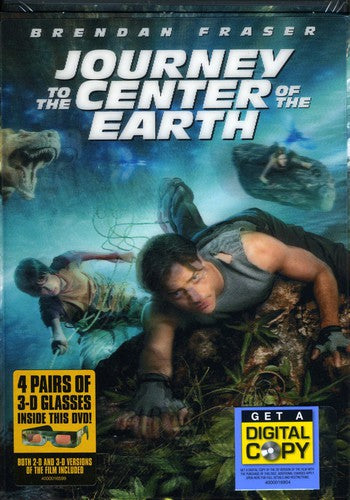 JOURNEY TO THE CENTER OF EARTH (2008) - JOURNEY TO THE CENTER OF EARTH (2008) (DVD)
