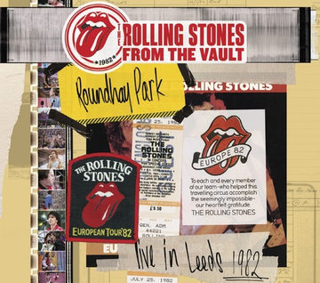 ROLLING STONES - FROM THE VAULT: LIVE IN LEEDS 1982