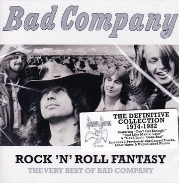 BAD COMPANY - ROCK N ROLL FANTASY: THE VERY BEST OF BA (CD) - CD New