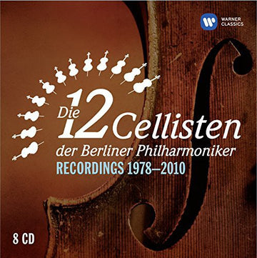 12 CELLISTS - 12 CELLISTS OF THE BERLIN PHILHARMONIC O - CD New