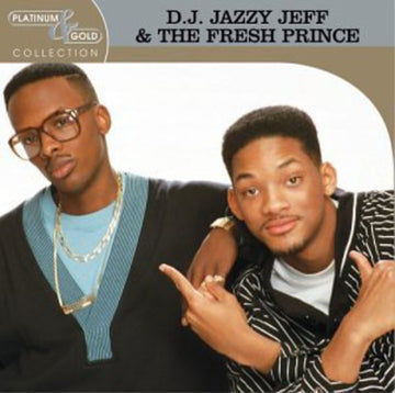 DJ JAZZY JEFF & FRESH PRINCE - PLATINUM & GOLD COLLECTION - CD New