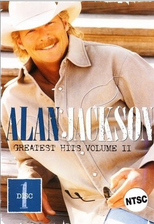ALAN JACKSON - GREATEST HITS VOL II DISC 1 - Video Used DVD