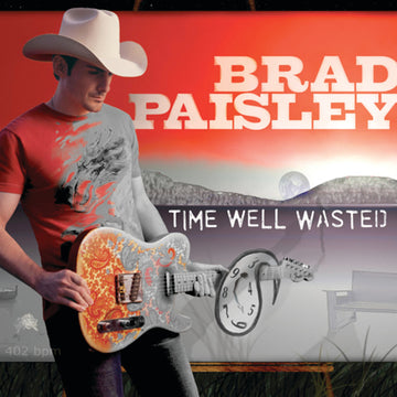 BRAD PAISLEY - TIME WELL WASTED - CD New
