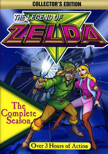 ADVENTURES OF ZELDA: COMPLETE SEASON - ADVENTURES OF ZELDA: COMPLETE SEASON (DVD)