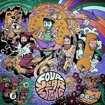 FOUR YEAR STRONG - FOUR YEAR STRONG (CD)