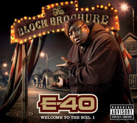 E-40 - BLOCK BROCHURE: WELCOME TO THE SOIL 1 - CD New